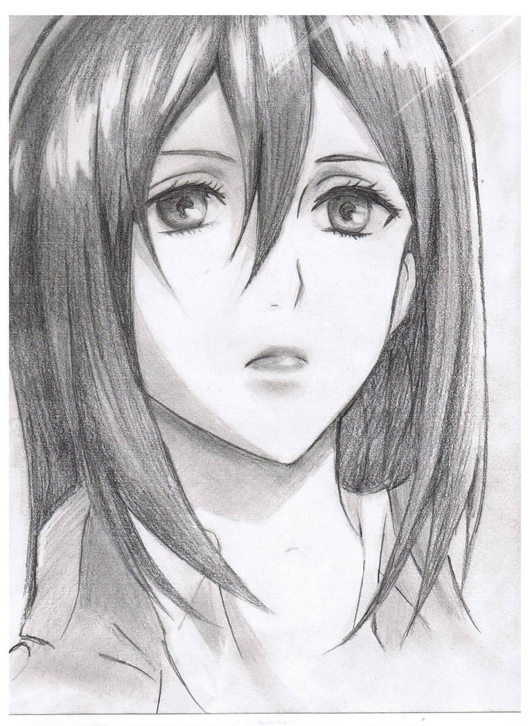 Mikasa Ackerman by Jeageractive