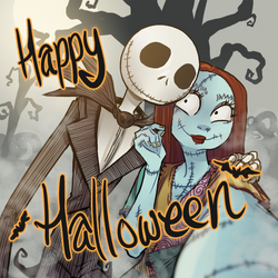 Happy Halloween to my Watchers! by Drawing-Wiff-Waffles