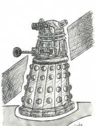 INKTober 2015 - Dia 5/31 : Daleck by SauloDFP