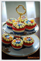 Holland cupcakes by rebecca17