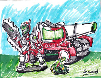 Blaster Master Zero by Cartoontriper