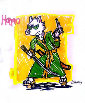 Hayao by Cartoontriper