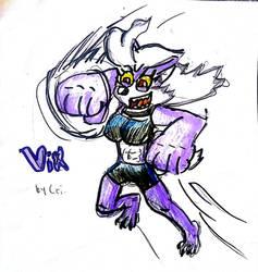 Vix by CrikeyDave by Cartoontriper