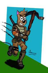 Fortinite Gusli by Cartoontriper