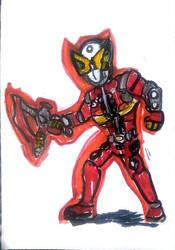 Kamen Rider Geiz by Cartoontriper