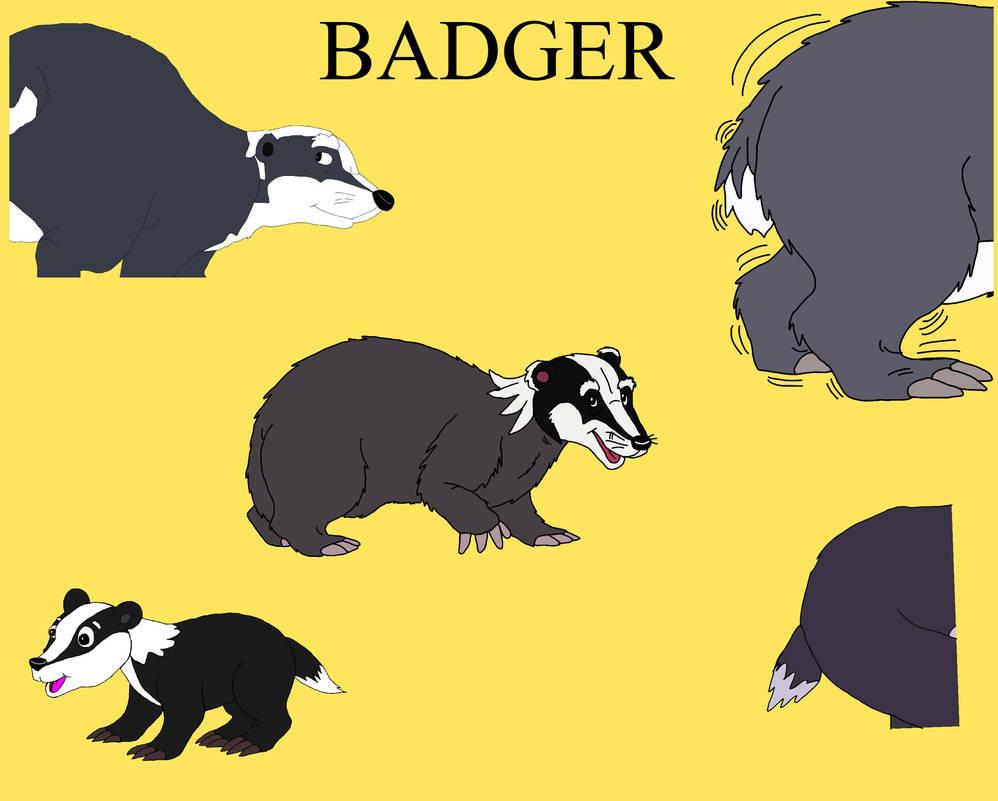 AOFW Badger Art Dump by CatFury23