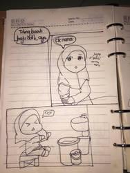 Short comic p.1 by Meowkawaii0064