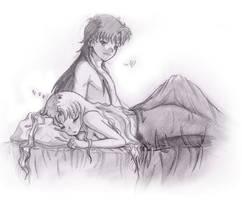 Sleep time by Sakura-Rose12