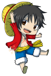 Monkey .D. Luffy by Sakura-Rose12