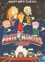 Ed, Edd n Eddy (Power Rangers Turbo) by jajuruns90rebels
