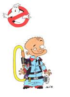 Johnny as Winston Zeddmore (Ghostbusters) (EEnE) by jajuruns90rebels