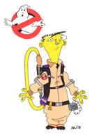 Ed as Ray Stantz (Ghostbusters) (EEnE) by jajuruns90rebels