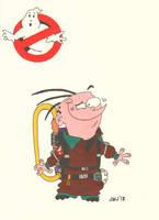 Eddy as Peter Venkman (Ghostbusters) (EEnE) by jajuruns90rebels