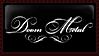 Doom Metal stamp by eroticheskiy-vampyr
