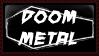 Doom Metal Coffin Stamp by eroticheskiy-vampyr