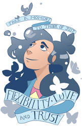 Flexibility Love and Trust by Plumli