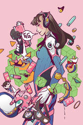 Love, D.Va by Plumli