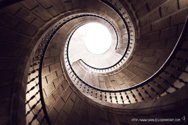 Spiral staircase by saralecu