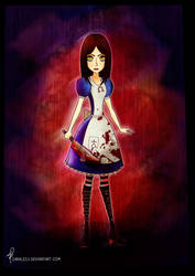 Alice Madness Returns by saralecu