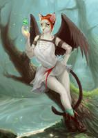 Nishararus by Lynx-Catgirl