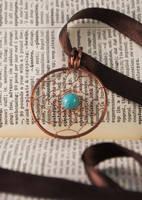 Dreamcatcher pendant by oasiaris