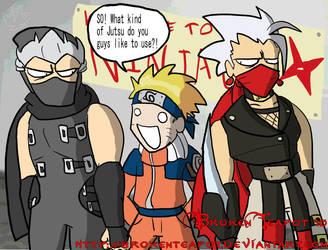 Ninja convention by BrokenTeapot
