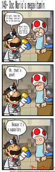 Doc Mario's megavitamin by BrokenTeapot