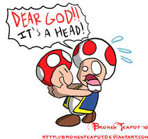 What Toad thinks of Mushrooms by BrokenTeapot