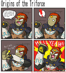 Origins of the Triforce by BrokenTeapot