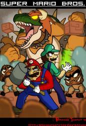 Super Mario Bros. by BrokenTeapot