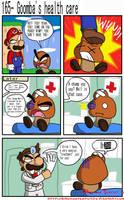 Goomba's health care by BrokenTeapot
