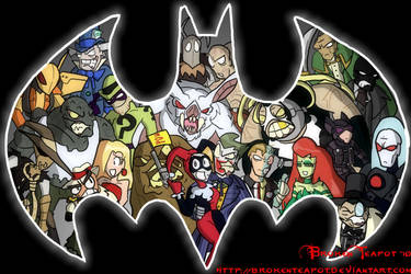 Villains of Gotham City by BrokenTeapot
