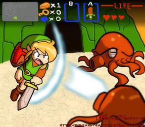 The Legend of Zelda by BrokenTeapot