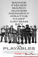 Expendables video game version by BrokenTeapot