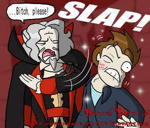 Dracula vs. Edward by BrokenTeapot