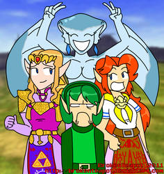 Ocarina Of Time: Odd Girl Out by BrokenTeapot