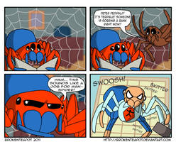 THE AMAZING MAN-SPIDER by BrokenTeapot