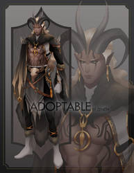 [CLOSED] Adoptable - The Warrior by zenithy90