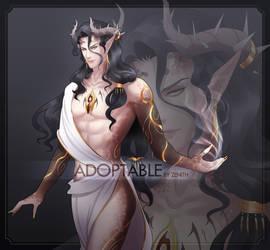 [CLOSED] Adoptable - Half Demon/Creature by zenithy90