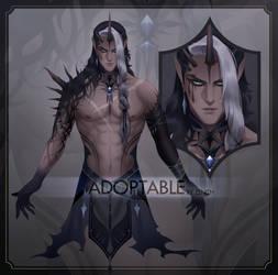 [CLOSED] Adoptable - Dark Unicorn by zenithy90