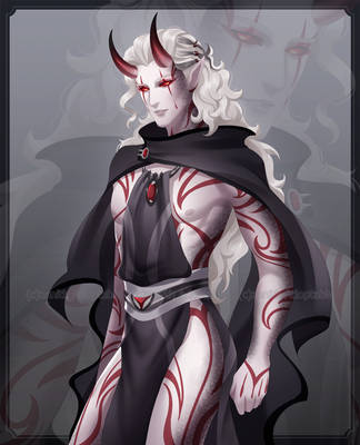 [CLOSED] Adoptable - Red Demon by zenithy90