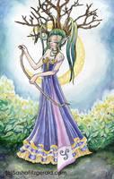 Elven Wood Goddess by SashaFitzgerald