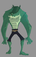 Killer Croc by TerminAitor