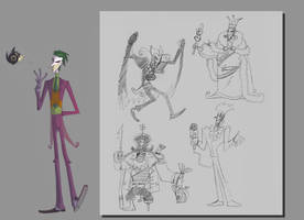 The Joker redesign by TerminAitor