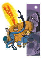 Fantastic Four by TerminAitor