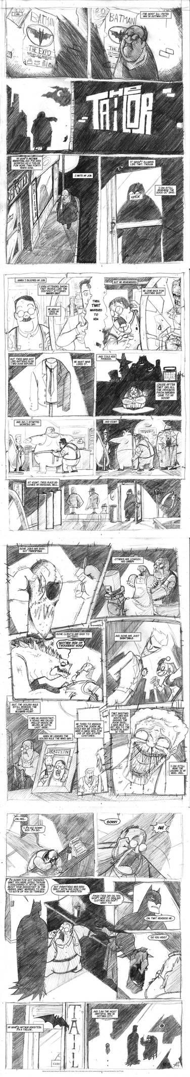 Batman -The Tailor by TerminAitor