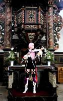 Lucius Seine Cosplay - Violin Sounds in the Church by NiviaCzarni