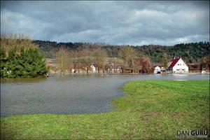 Bavarian Floods - Meadow by RoqqR