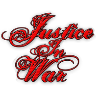 Justice In War Logo / Vertical by RoqqR