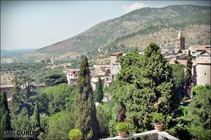 View from the Villa d'Este III by RoqqR